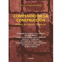 Compendio De La Construccion Manual De Tablas De Fernandez O