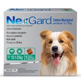 Antipulgas E Carrapatos Merial Nexgard Para Cães De 10 A 25