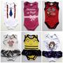 100 Und Body Bori Bodies Infantil Engraçado Minions P M G.