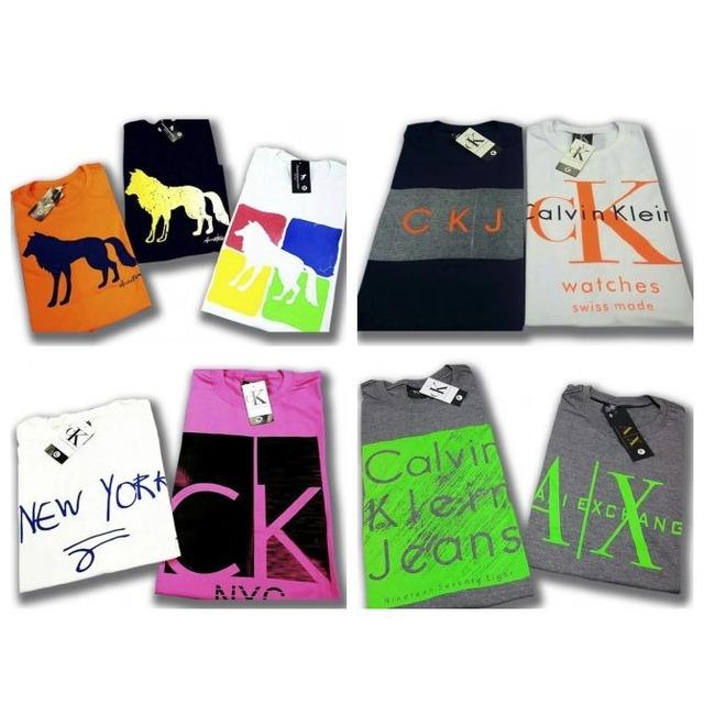 10 Camisetas Masculina Camisas Blusas Atacado Baratas em Congonhas ... b27df76976a