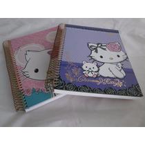 Caderno Universitário Feminino Charmy Kitty 12 Matérias (02)