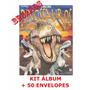 Kit Álbum De Figurinhas A Era Dos Dinossauros + 200 Cromos