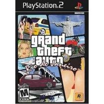 Patch Gta Grand Theft Auto Rio De Janeiro Ps2 Frete Gratis