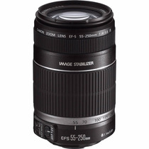 Lente Canon Ef-s 55-250mm F/4-5.6 Is Stm Telefoto Autofoco