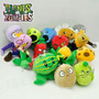 Kit 14 Bonecos Pel�cia Plants Vs Zombies 2 Peas Com Ventosa