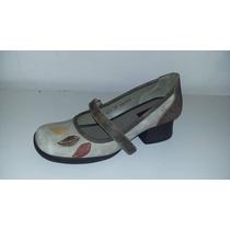 Sapato Boneca Em Couro J Gean (6007)