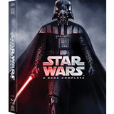 Box Star Wars A Saga Completa 9 Discos Blu-ray