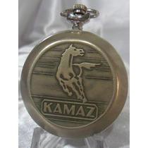 Raro Relogio De Bolso Russo Molnija Modelo Legendário Kamaz!