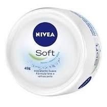Nivea Soft Hidratante Suave Para Rosto Corpo E Mãos 49gramas