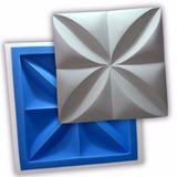 Forma Placa Gesso 3d - Ref.02 - 35,5x35,5cm Plástico + Eva