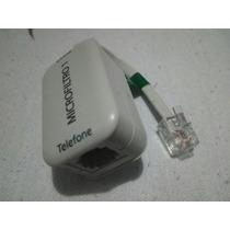Microfiltro 1 Simples Opticom Linha / Extensão Telefone