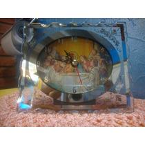 Maravilhoso Relógio Mesa Santa Ceia Espelhado Leia Anuncio!