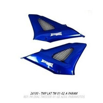 Oferta Tampa Lateral Twister 2001 A 2002 Azul Par S/adesivo