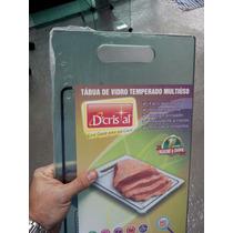 Tábua De Carne De Vidro Temperado Incolor 10mm