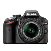 Câmera Digital Nikon D3200 24.2 Mp, Lcd 3
