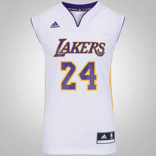 Camisa Regata adidas Nba Los Angeles Lakers Nº24 Kobe Bryant aed34c80afcda