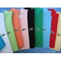 Camisas Polo Malha 100% Algodao Atacado
