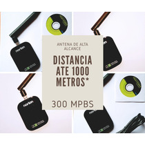 Adaptador / Usb Wifi + Antena De Alto Alcance