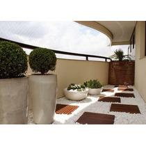 Seixos Branco - Para Jardim E Exteriores - Saco 40 Kg Rj