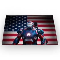 Jogo Americano Homem De Ferro Patriota 46x33cm