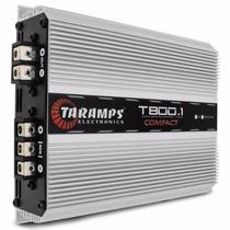Modulo Taramps T800.1 Compact 1 Canal 800w Rms Potencia T800