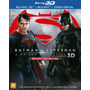 Pré Venda Blu-ray Batman Vs Superman Blu-ray 3d 3 Discos