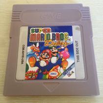 Fita Super Mario Bros Deluxe Game Boy Nintendo Gb Gba Nova