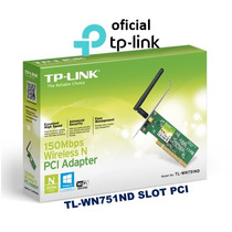 Adaptador Wireless Pci Tp-link Tl-wn751nd 150mbps Atheros