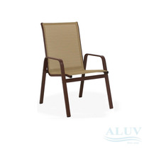 Cadeira Aluminio Com Tela Sling Area Piscina Jardim Varanda