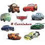 Mcqueen Cars 8 Carrinhos De Brinquedo Filme Carros Relâmpag