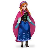 Boneca Anna Do Filme Frozen Uma Aventura Congelante