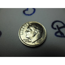 Moeda One Dime Liberty, Ano 1989,letra P Ref 277