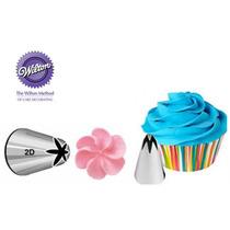 Kit Bicos Confeitar Inox Grande 1m + 2d Wilton Cupcake