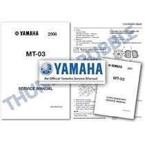 Manual Mecanica Eletrica Completo Yamaha Mt03 660 2008