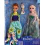 2 Bonecas Frozen Princesa Ana + Elsa Musical Pronta Entrega