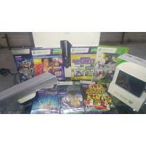 Xbox 360 500gb+kinect+40 Jogos Originais De Brinde