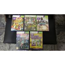 Kit De 5 Jogos Xbox 360 Originais