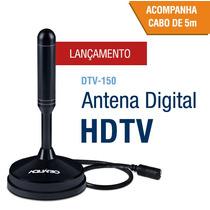 Antena Digital Hdtv 4 Em 1vhf-uhf-fm-hdtv/ Dtv150 Aquário