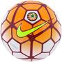 Bola Futebol Campo Nike Sc2906 Strike Csf - Laranja Branco