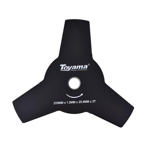 Lâmina 3 Pontas Para Roçadeira Tcb25525315 Toyama