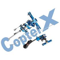 Rotor Principal E Rotor Traseiro Aluminio - Original Copterx