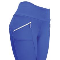 Calça Legging Montaria De Gorgurão Com Ziper No Bolso Novo