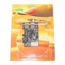 Placa Pci-e Com 2 Portas Usb 3.0 Perfil Baixo. ( 5 Gbps )