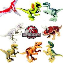 Kit Jurassic Park World 8 Dinossauros Parque Indominus Rex