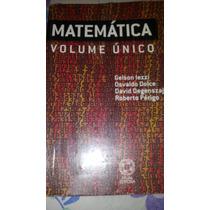 Matemática Volume Único