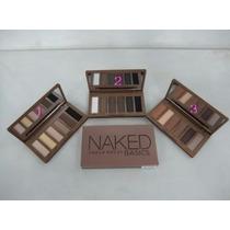 Kit Naked Basics Urban Decay. 3 Paletas+brinde. P. Entrega.