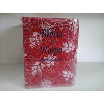 (kmb)bíblia Feminina Letra Grande Com Harpa(preço Sem Igual)