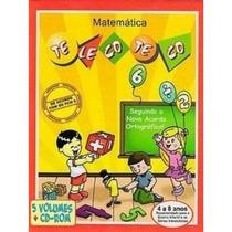 Coleção Telecoteco Matemática - 5 Livros + Cd - Ed. Gmbc