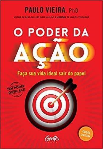 Livro - O Poder Da Ação - Edição Luxo - Paulo Vieira
