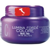 Máscara Lumina Forza Colore Red / Vermelha Tec Italy